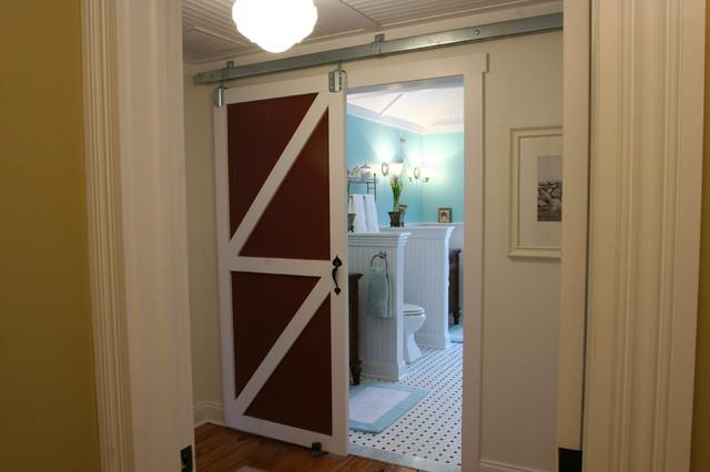 卫生间白色门厅简欧风格装饰设计图片