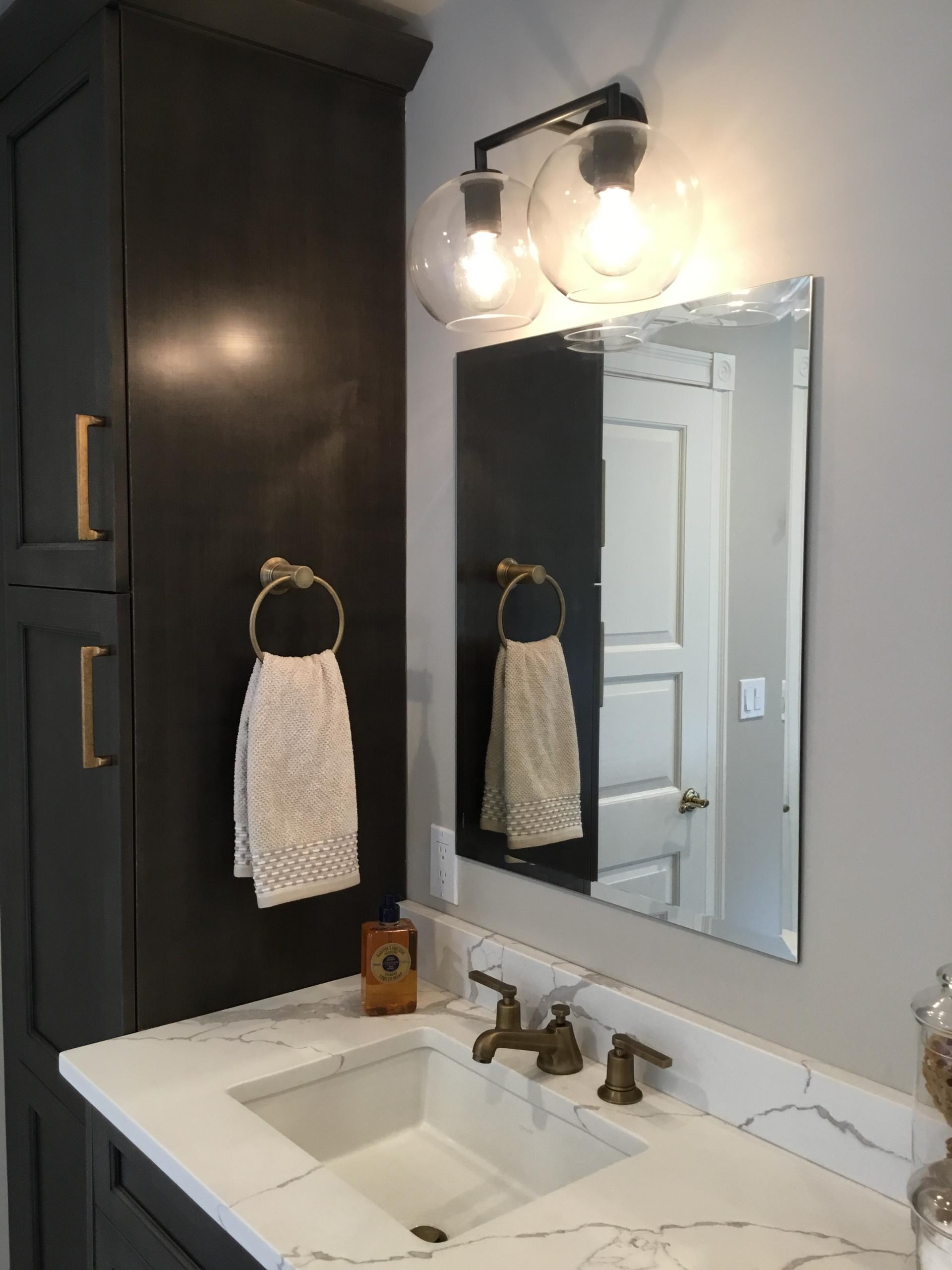 Farmhouse modern Master Bathroom