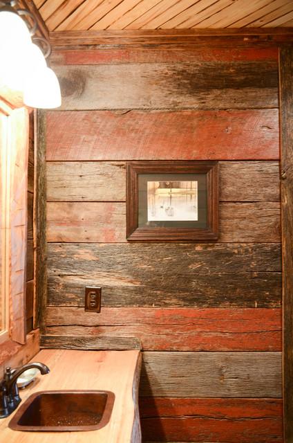 Farmhouse rustic bathroom birmingham by turnipseed for Bathroom builders birmingham