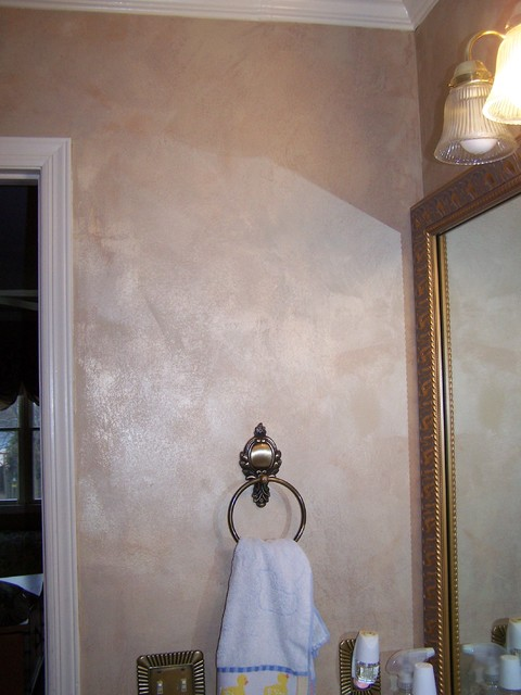 Faux finishes by Artworks by Marcine, LLC traditional-bathroom