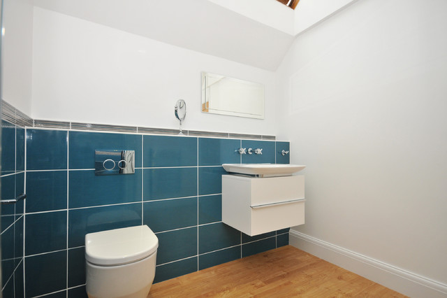 Bathroom Tiles Kent feature tiles with beautiful laufen products - modern - bathroom