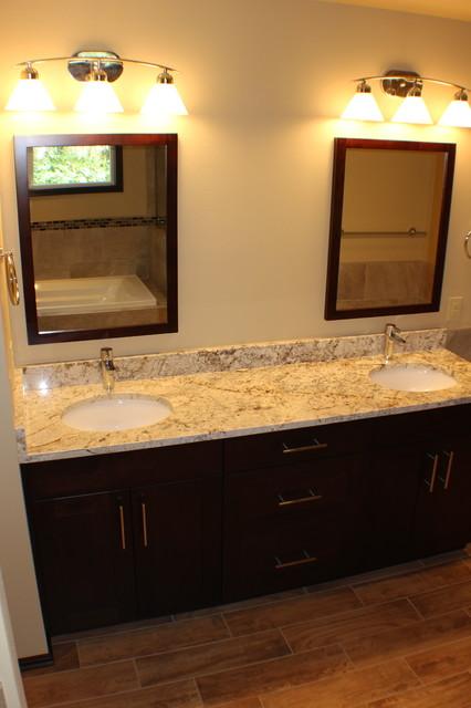 Bathroom - traditional bathroom idea in Seattle