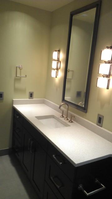 Bathroom - contemporary bathroom idea in Seattle