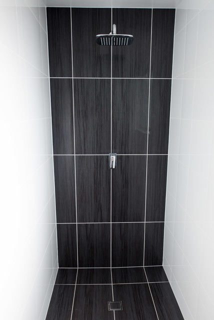 Fedenza black bathroom modern bathroom brisbane by urban tile