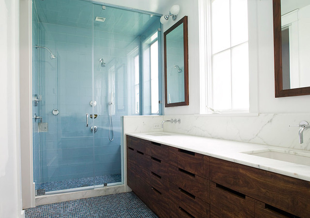 Feldman Architecture contemporary-bathroom