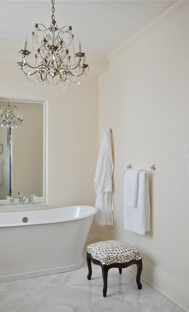 Feminine Master Bathroom traditional-bathroom