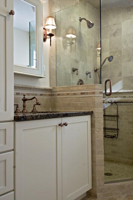 Feminine Touches for a Guest Bath traditional-bathroom