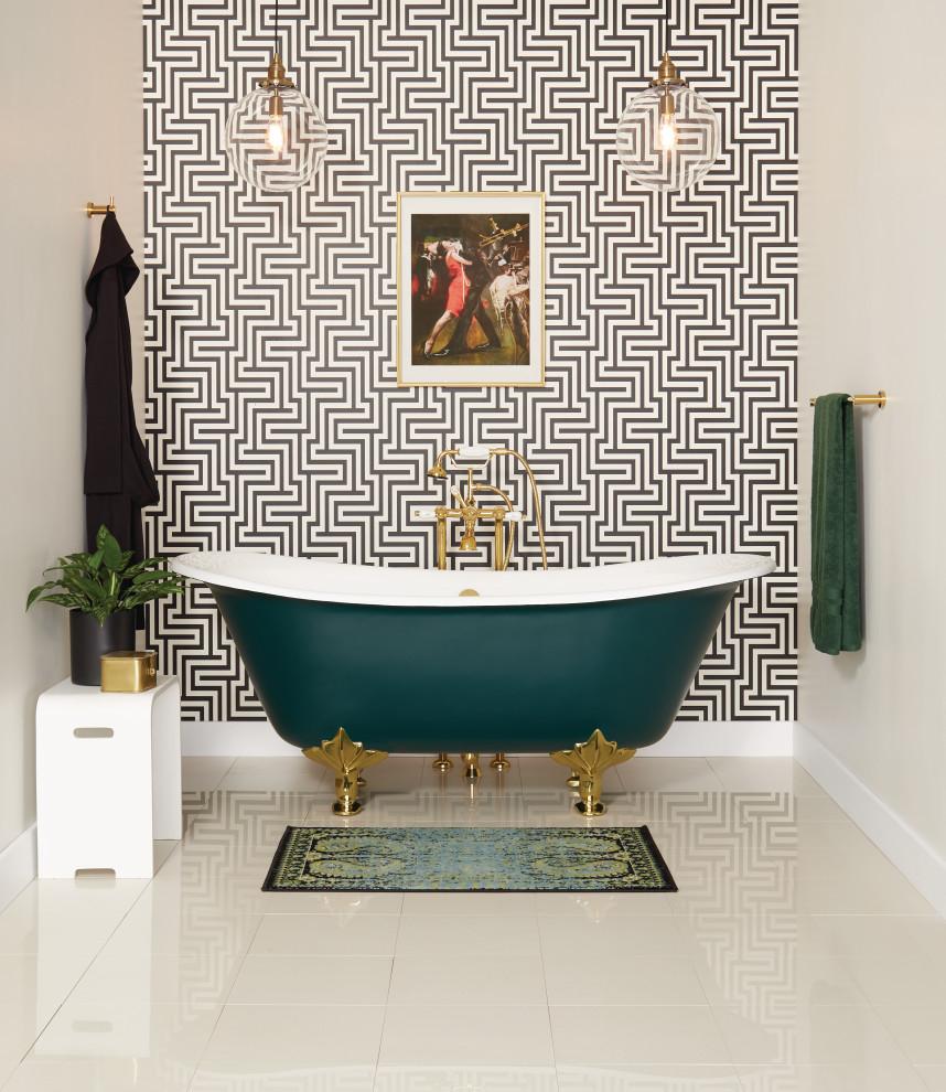 Bathroom - contemporary bathroom idea in Other