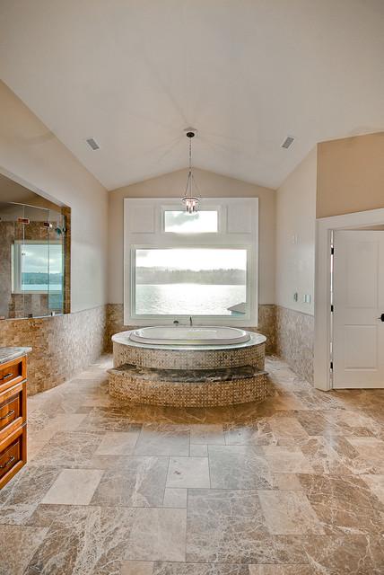 Ferncroft: Mercer Island Waterfront Luxury traditional-bathroom