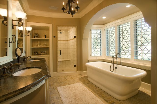 traditional bathroom by Bruce Kading Interior Design
