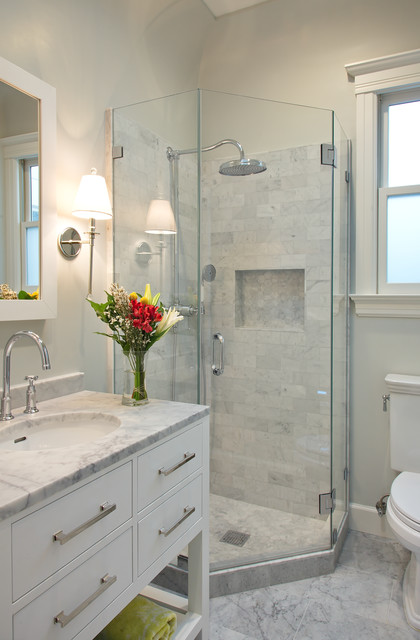 Filbert Street Transitional Bathroom San Francisco By Studio - 7 x6 bathroom design