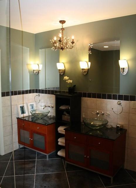 Finished Basement #1 traditional-bathroom