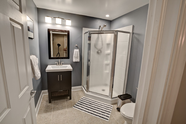 Awesome Inspiration For A Transitional Bathroom Remodel In Philadelphia