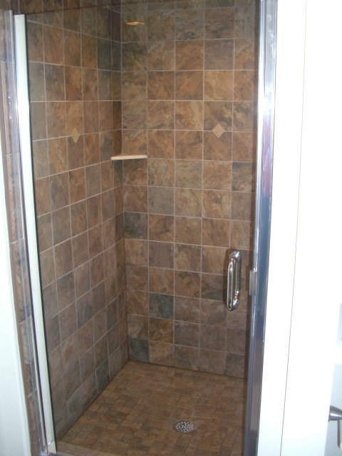 Finished Basements traditional-bathroom