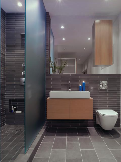 Fire Island Residence modern-bathroom