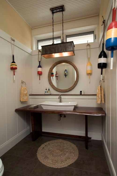 styling a beach house bathroom cottage and bungalow