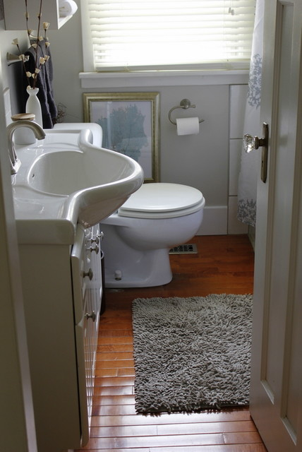 first home makeover traditional-bathroom