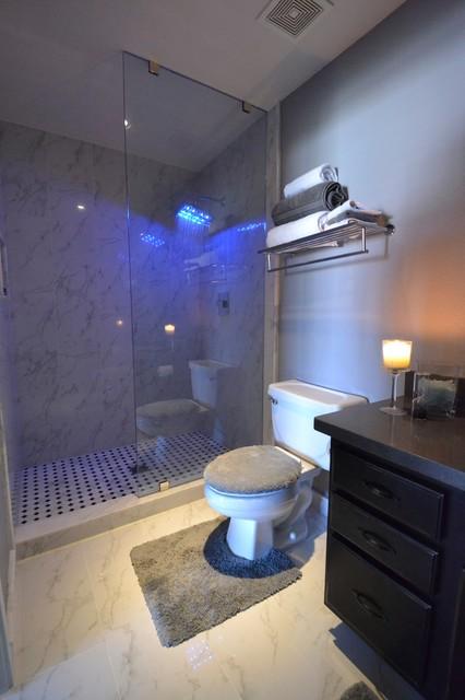 Fisher Condo Bathroom Makeover Modern Bathroom Phoenix By - Condo bathroom makeovers
