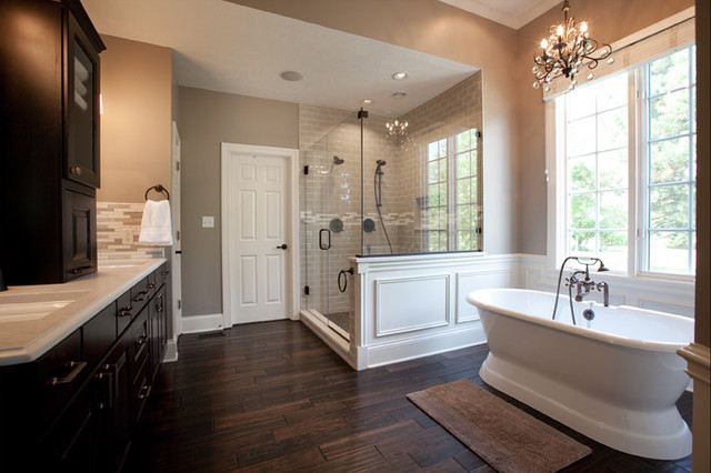 Fishers master bath traditional bathroom for Urban bathroom ideas
