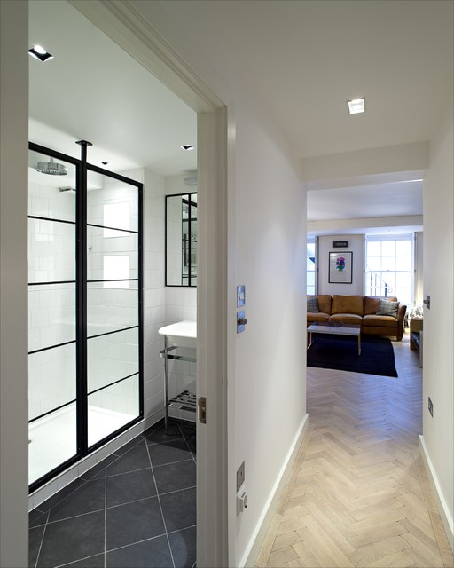 Fitzroy street contemporary bathroom london by for Bathroom design jobs london