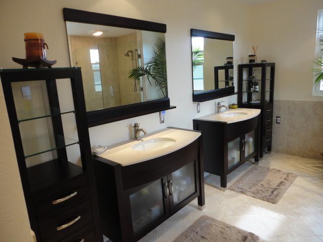 Flametree Bathroom tropical-bathroom