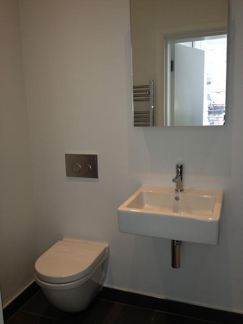 Flat Refurbishment - Pimlico contemporary-bathroom