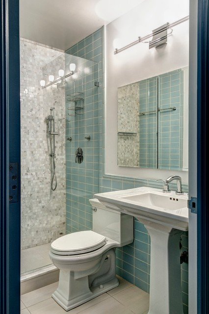 Flatiron Kitchen Bath Renovation Contemporary Bathroom New York