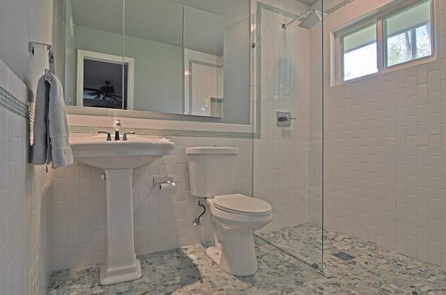 Flaxley Street Bathroom contemporary-bathroom