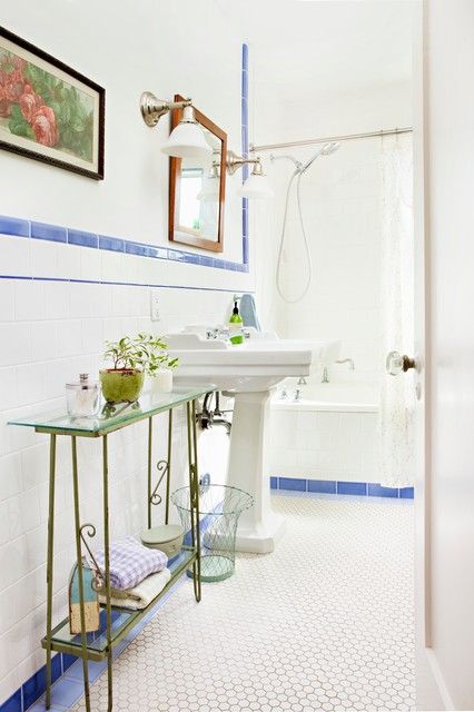 Flea Market Style - Shabby-chic Style - Bathroom - Los Angeles - by ...