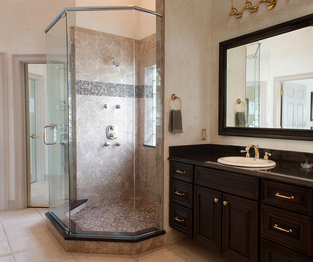 Fleming Island Traditional Bathroom Jacksonville By Design Underfoot By Tami