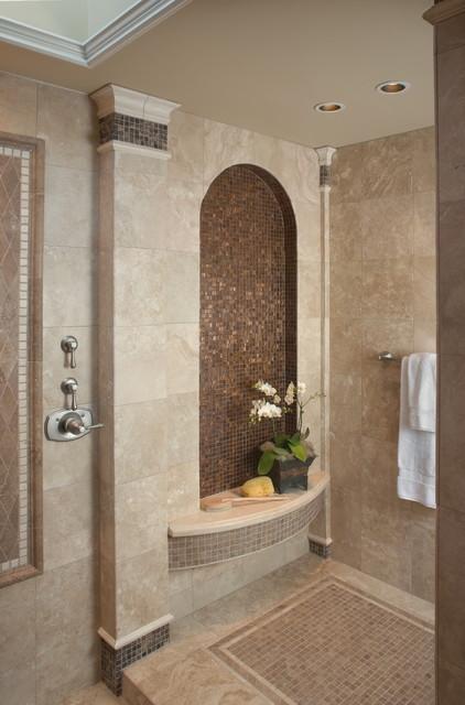 Bathroom Niche Decor : Fleming master bath mediterranean bathroom other