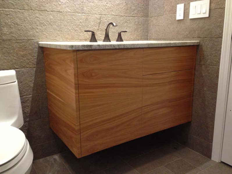 Floating Vanity - Contemporary - Bathroom - Jacksonville ...