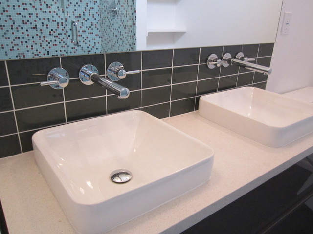 Kohler Vox Sink : Floating Vanity, Kohler Vox Vessel Sinks - Modern - Bathroom - san ...