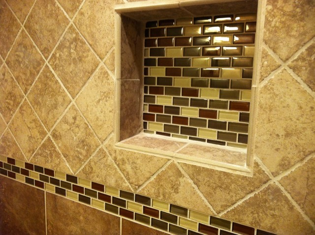 Perfect Floor To Ceiling Tile Bath  Traditional  Bathroom  Other Metro  By