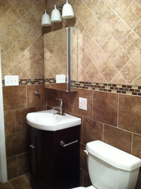 floor to ceiling tile bath contemporary bathroom 24404
