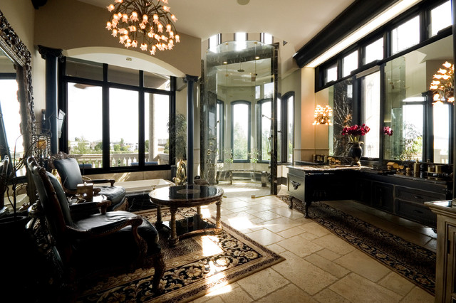 Florida Style House Mediterranean Bathroom Other By