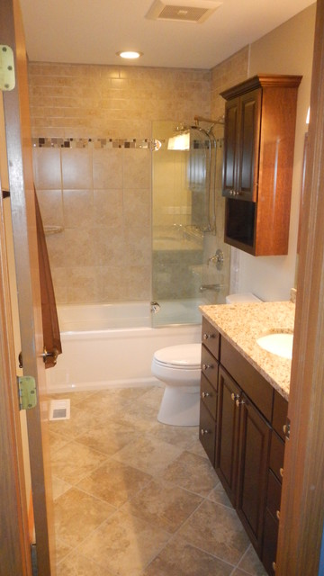 Flossmoor Master Bathroom Remodel traditional-bathroom
