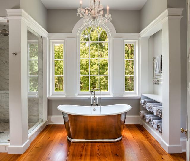 Flourtown residence traditional bathroom - Bathroom contractors philadelphia ...