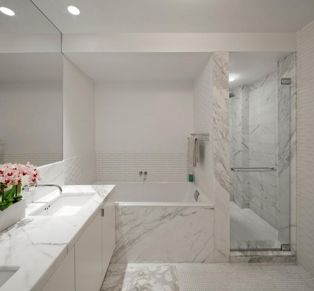 Loft 2 modern-bathroom