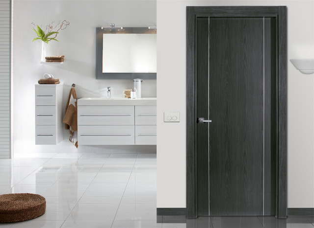 Flush Doors Contemporary Bathroom Other Metro By Dayoris Doors Panels
