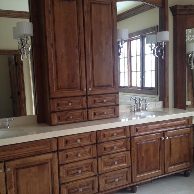 Flynn Residence traditional-bathroom