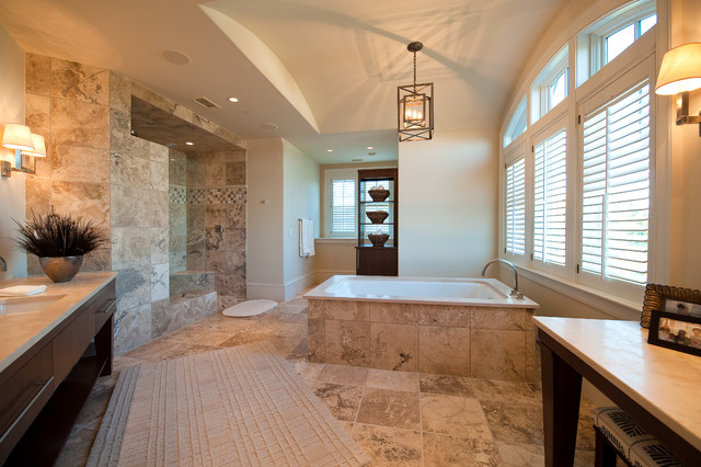 Flyway Drive Residence traditional-bathroom