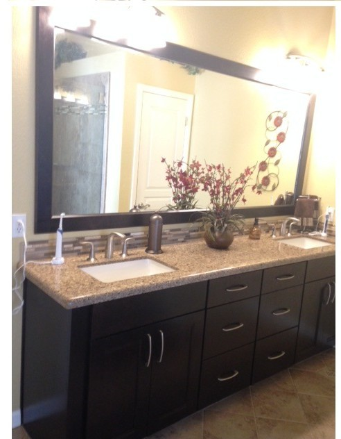 Folsom Two Bathroom Remodel - Transitional - Bathroom ...