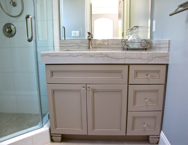 Footed Vanity Transitional Bathroom San Francisco By Kitchens By Ross