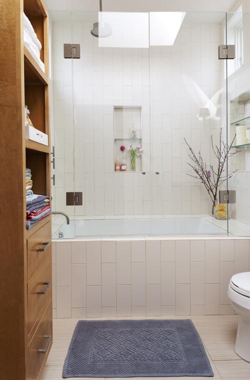 French Door Style Tub And Shower Door