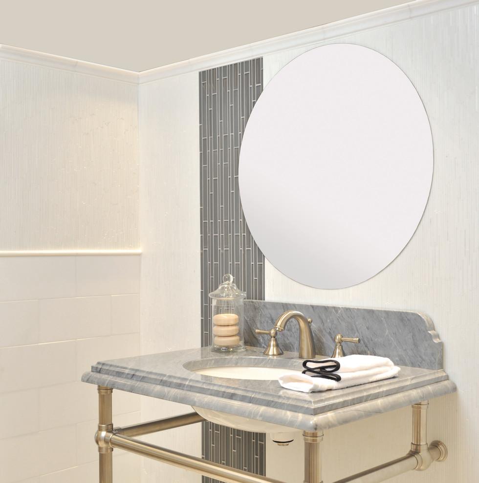 Fordham Marble - Traditional - Bathroom - New York - by AKDO