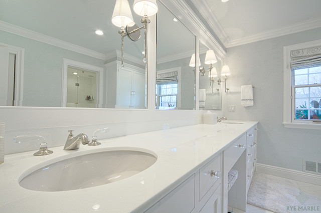 Forest Ave Rye Ny Residence Traditional Bathroom
