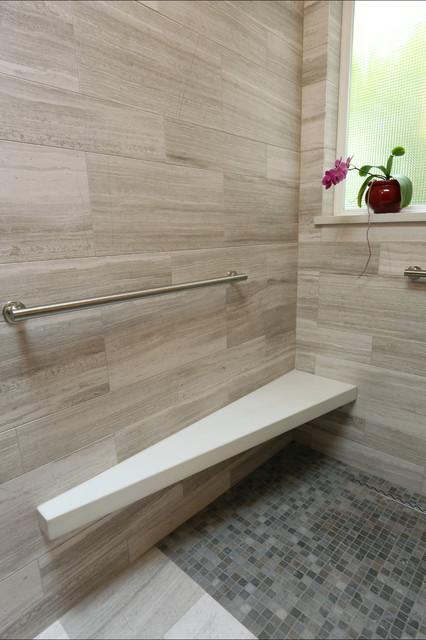 Forest heights Master Bathroom contemporary-bathroom