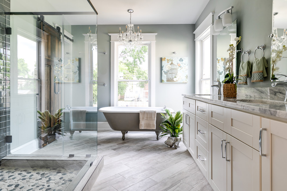 Forest Hill Ave Renovation - Traditional - Bathroom ...