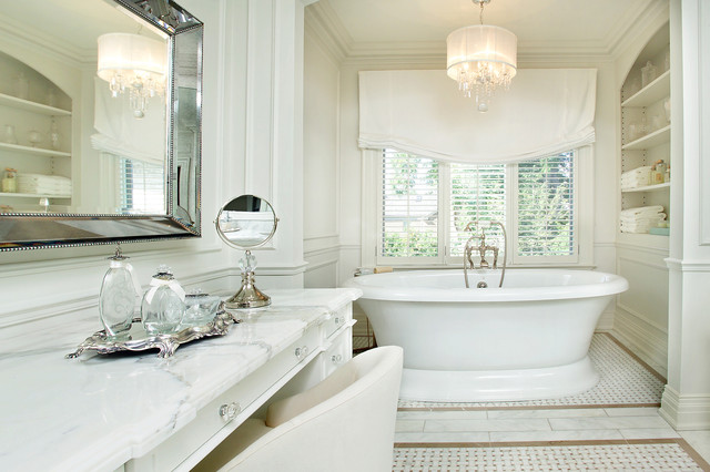 Forest hill home traditional bathroom toronto by for Forest bathroom ideas